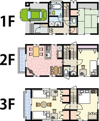 3階建てのメリット・デメリットとは?新築で建てる時に知っておきたい 6 つのこと