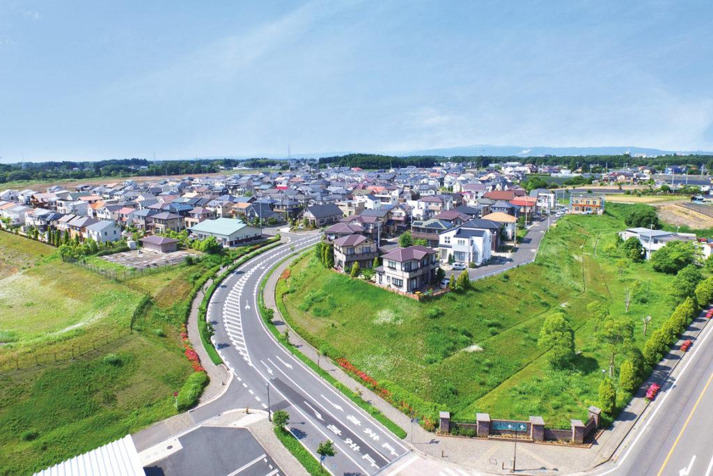 フローレスタ須和間 台地の街