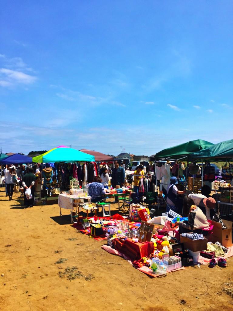 フリーマーケット 東海村