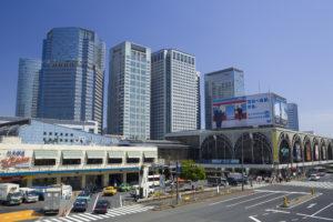 品川駅 高層ビル群