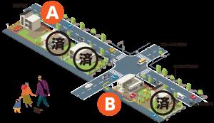 販売区画イメージ図